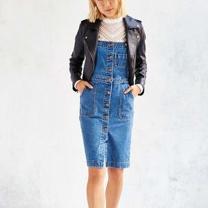 Urban Outfitters Cora Denim Overall Dress
